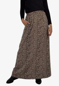 Falda Ema Animal Print Leopard Jacinta Tienda