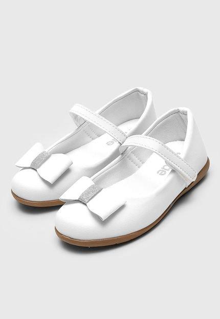 Sapatilha Tricae Menina Laço Branca Tricae