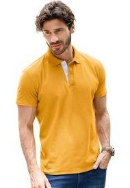 Camiseta Polo Para Hombre Mostaza MP