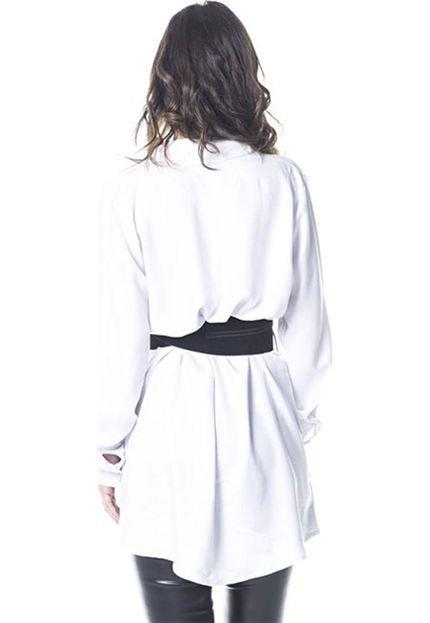 Gisele Freitas Vestido Gisele Freitas Chemise Branco