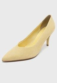 Zapato Cuero Amarillo Bottero