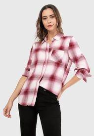 Camisa Fucia-Rosa-Blanco GAP