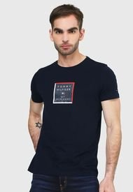 Camiseta Azul Navy-Blanco-Rojo Tommy Hilfiger