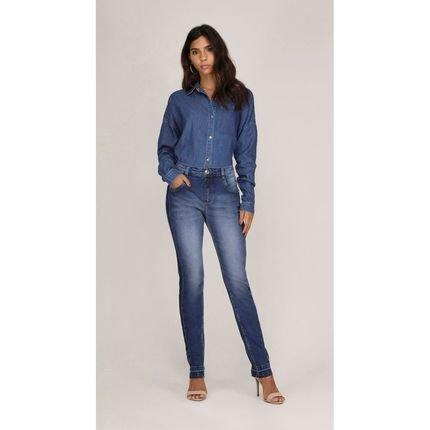 Leboh Calca Leboh Straight Cos Intermediario Reserva Lateral Jeans Jeans OhXDo