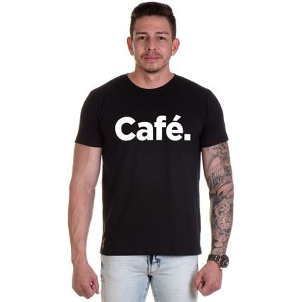 Camiseta Lucas Lunny T Shirt Gola Redonda Preta.