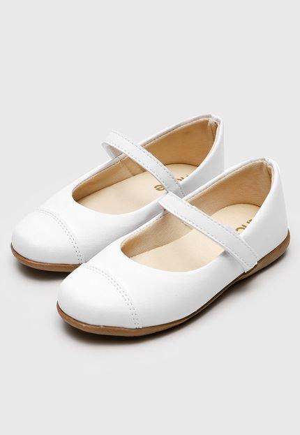 Sapatilha Tricae Menina Branca