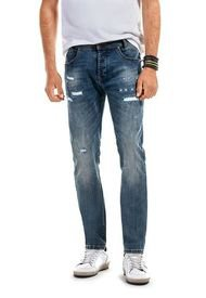 Jeans Ohio With Button Azul Ferouch