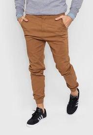 Pantalón Camel Shaffe Co. Jogger Cargo