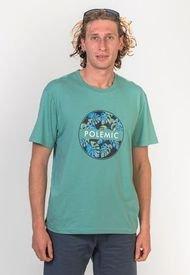Polera Basica Regular Fit   Verde Nilo Polemic