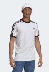 Camiseta Blanco-Negro adidas Originals Classics 3 Rayas