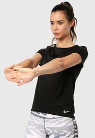 Camiseta Negro Nike Run Top SS
