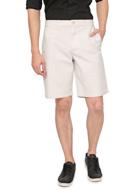Bermuda Sarja GAP Chino Color Off-White