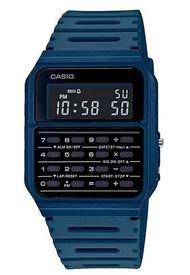 Reloj Digital Calculadora Azul Casio
