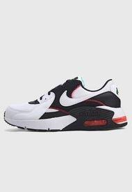 Tenis Lifestyle Blanco-Negro-Rojo Nike Air Max Excee