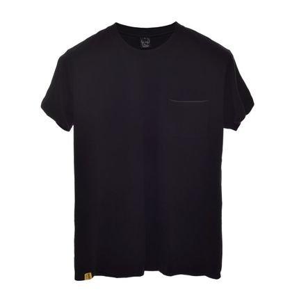 Camiseta Macchina Lab Black Night Bolso Tech Preta