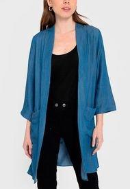 Kimono iO Azul - Calce Regular