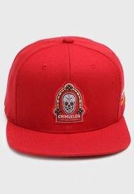 Jockey Chimuelos de San Antonio Snapback Rojo Mitchell & Ness