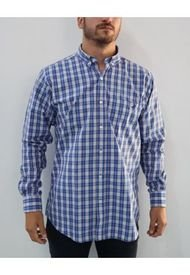 Camisa Azul Brooksfield Dylan Regular